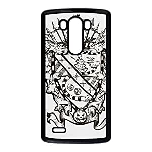 LG G3 Cell Phone Case Black_FAMILY CREST Pucuk