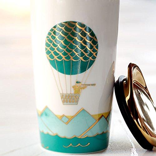 Starbucks Double Wall Traveler - Hot Air Balloon, 12 Fl Oz (11041001)