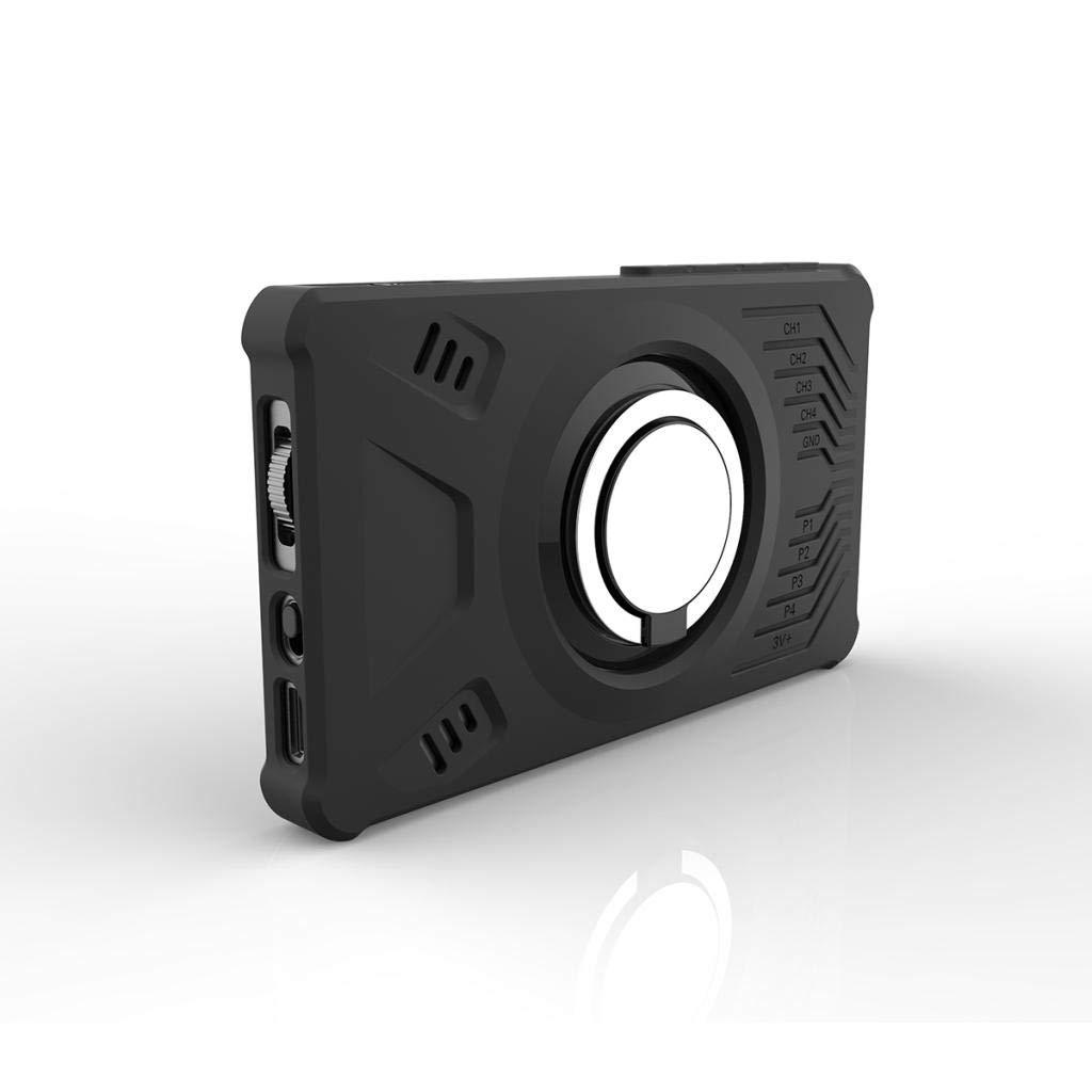 Milageto Protective Black Silicone Cover for LA104 Logic