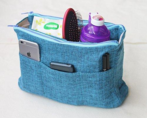 Blue Louis Vuitton Diaper Bag - 1