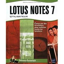 Lotus Notes 7 utilisateur