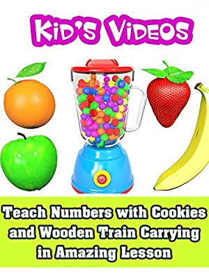 Exciting Learning Fruits Name with Toy Blender Banana Apple - Kid's Videos
