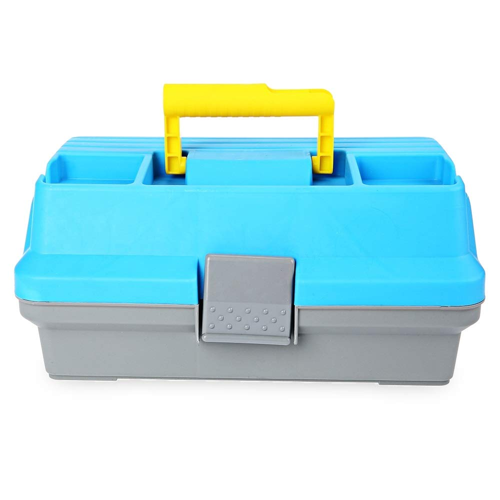 LittleCat 3 - Layer Plastic Handle Box for Carp Fishing Tackle