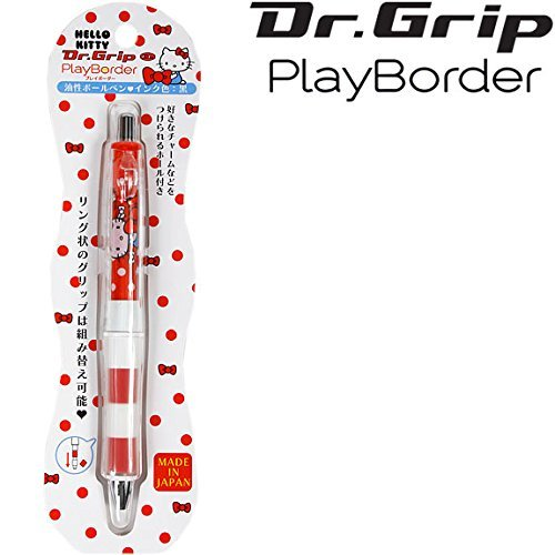 [Hello Kitty] Ball-point pen Dr. grip play border Dr.Grip