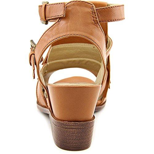 White Mountain - Sandalias de vestir para mujer Luggage Leather