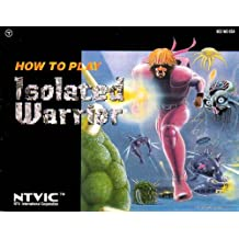 Isolated Warrior NES Instruction Booklet (Nintendo Manual ONLY - NO GAME) Pamphlet - NO GAME INCLUDED
