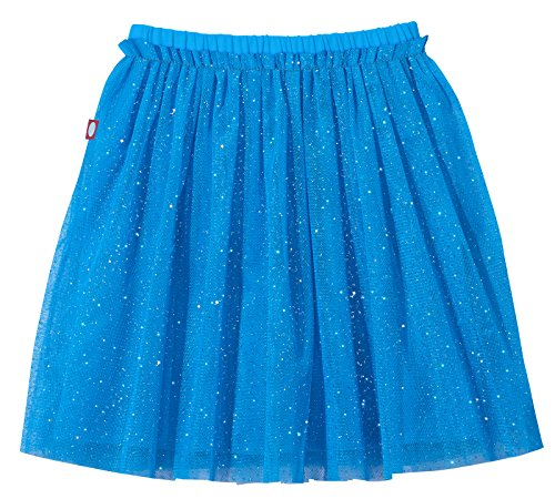 City Threads Girls Tutu Skirt Sparkle Tulle Bubble Mesh Skirt Princess Ballerina Play Sundress Summer Dance Soft Cotton Ballet Party Dress, Turquoise, -