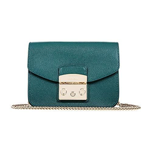 Furla Women's Metropolis Mini Cross Body Bag, Cipresso, Tan, One Size