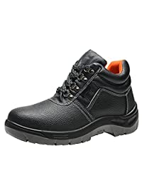 Optimal Men's Safety Boot , Steel Toe Boot Work Boot Composite Toe Boot