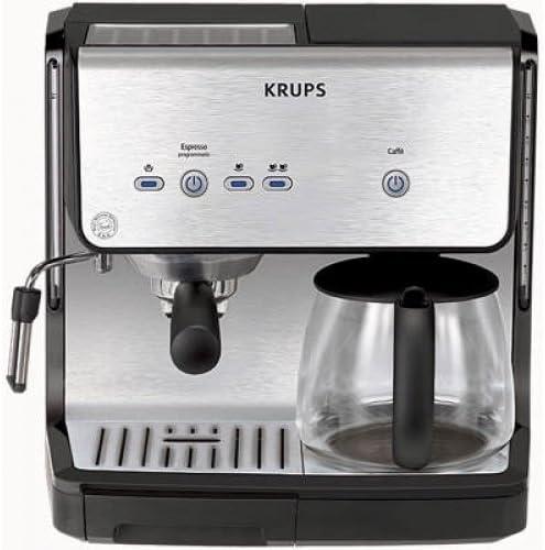 Krups XP 2050 Espresseria Combi – Cafetera espresso: Amazon.es: Hogar