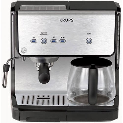 Krups XP 2050 Espresseria Combi - Cafetera espresso: Amazon ...