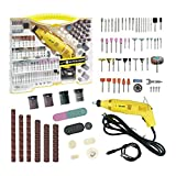 254 pcs Rotary Tool and Acessories Set Longmate Rotary Tool Advanced Multi-functional Rotary Tool with 254 Accessories Kit for Cutting, Grinding, Sanding,and Crafting Projects
