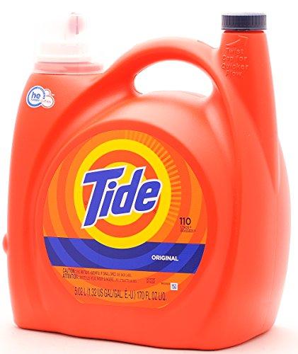 Tide Original Scent High Efficiency Laundry Detergent, 110 L