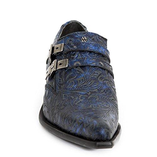 New Rock Handmade M 2246 S54 Blau Herren Sneeker