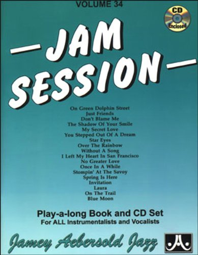 Download By Jamey Aebersold Vol. 34, Jam Session (Book & CD Set) (Play- a-Long) (Pap/Com) [Paperback] ebook