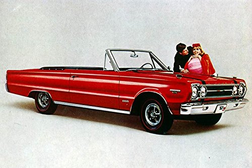 1967 Plymouth Belvedere GTX Convertible Factory Photo -
