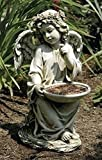 Roman 14″ Joseph's Studio Angel Bird Bath or Feeder Outdoor Garden Statue