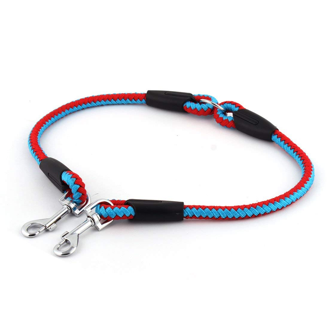 1Pc bluee, M   Pets Dog Cat Running Accessories Dogs Nylon Leash Padded Waist with Elastic Leash Between 160cm and 260cm