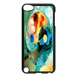 Earth Balance - Yin And Yang Art Design Pattern Hard Back Case Cover Skin For Apple iPod 5th Generation Case