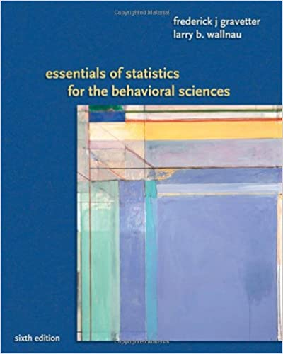 Amazon essentials of statistics for the behavioral sciences amazon essentials of statistics for the behavioral sciences 9780495383949 frederick j gravetter larry b wallnau books fandeluxe Image collections