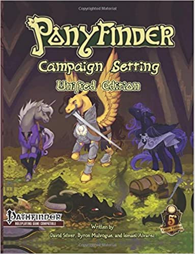 Ponyfinder - Campaign Setting: Amazon.es: David Silver ...