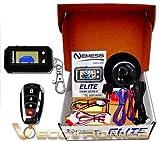 Vecctronica Alarma Especial Nemesis para Cualquier Tipo de Auto, con 1 Control LCD + 1 análogo