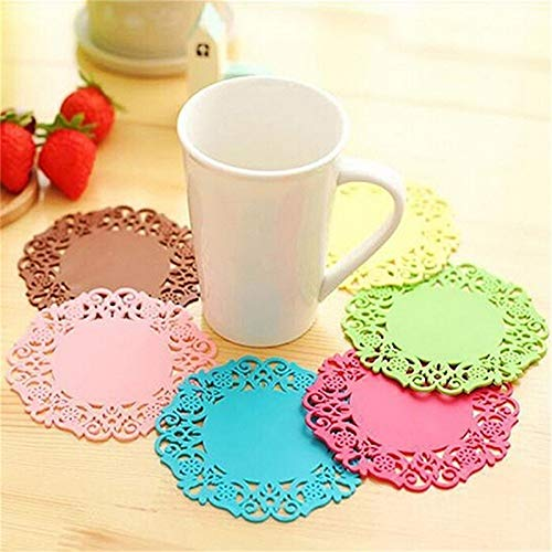 PlenTree 50pcs background Dark Dots Muffin Cupcake Paper Cups Party Cups wedding birthday Party Decoration Disposable Tools: 8