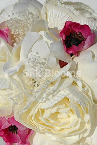 Stunning-Ivory-Peony-Pink-Anemone-Dried-Gypsophila-Bouquet