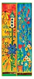 Studio M Garden Outdoor Decor Stephanie Burgess Art Pole (Flower Power)