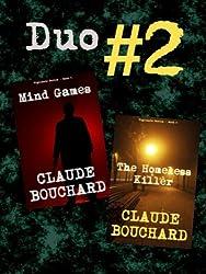 Duo # 2 - Mind Games/The Homeless Killer (VIGILANTE Series - Duo versions)