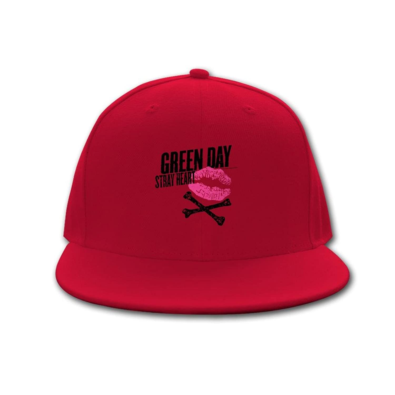 OB Snapback Clean Up Adjustable Baseball cap Green Day - Heart Logo Hip Hop Hat and Cap