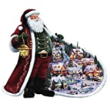 Santa Claus Diamond Painting Art - PigBoss 5D Full Drill Diamond Painting Crystals Diamond Dotz Kit Cross Stitch Christmas Gift for Adults (15.7 x 11.8 inches)