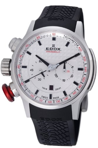 - Edox Men's 10302 3 AIN WRC Chronorally Watch