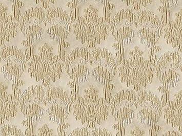 Tissu D Ameublement Jacquard Motif Baroque Beige Tissu De Qualité Supérieure Vendu Au Mètre Opaque Amazon Fr Cuisine Maison