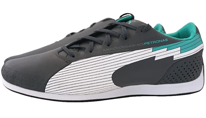 1f5ac4a0fbc Puma evo-Speed Low Mercedes AMG Petronas F1 Sneaker Men EUR 38 UK 5 Herren  Schuhe  Amazon.co.uk  Shoes   Bags