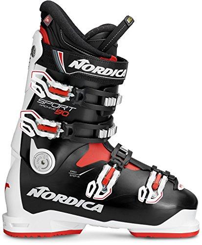 Nordica Sportmachine 90 Ski Boot 2017 - Black 29.5 (Ski Mens Nordica)