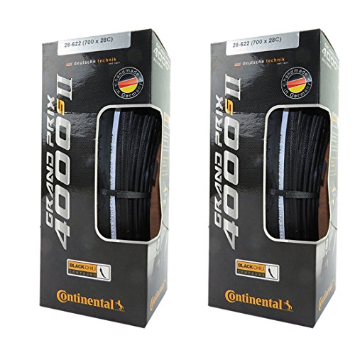 Continental Grand Prix 4000 S II Tire 700 x 28 700x28C Bl...