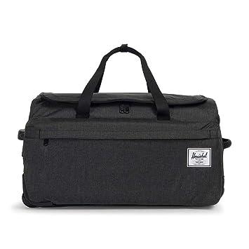 2f1e30d916e Amazon.com  Herschel Wheelie Outfitter, Black Crosshatch