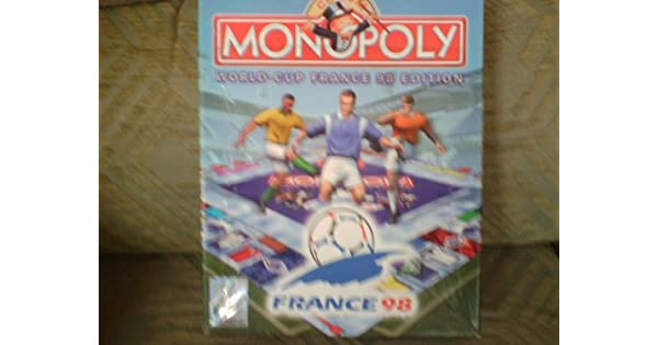 MONOPOLY WORLD CUP FRANCE 98 EDITION BIG BOX PC CD ROM [Importación Inglesa]: Amazon.es: Videojuegos