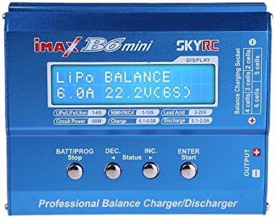 IMAX B6AC, Mini Chargeur IMAX B6 pour IMAXB6 IMAX B6AC DAUERHAFT Mini Chargeur Adaptateur Secteur Accessoire RC l/éger Non Toxique pour IMAXB6