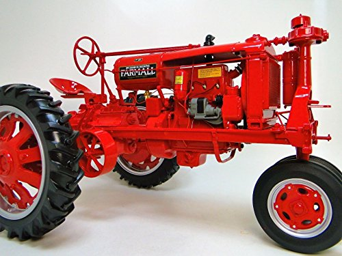 Tractor Farm FarmAll 1930s 1940s Antique Vintage Machinery 1 12 Pre Built Metal Diecast Scale Collectible Collector Model j H F20 F 20 1950 10 14