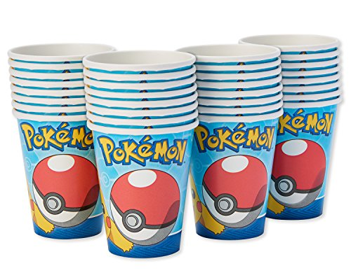 American Greetings Pokemon Paper Party Cups, 32-Count, Paper Cups by American Greetings