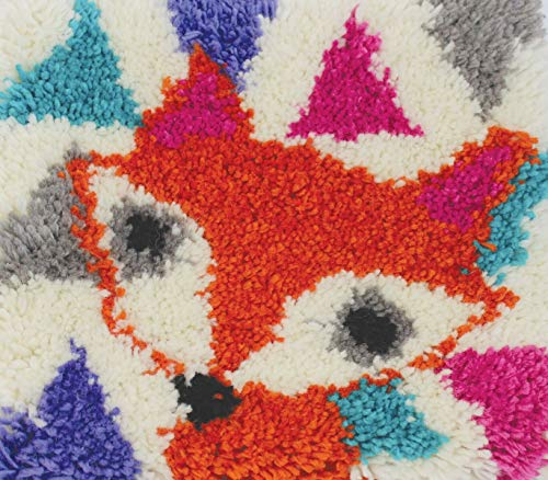 Harrisville Designs Latch Hooking Kit- Fox
