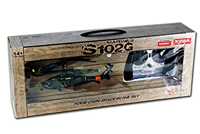 Syma S102G 3.5 Channel RC Helicopter with Gyro