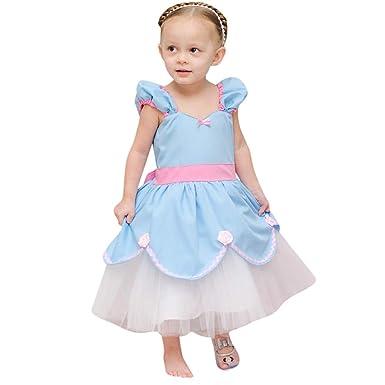 ASHOP Vestidos niña/ Vestido de Encaje Dot Party Vintage ...
