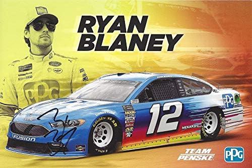 Ryan Blaney 2018 Carlisle Ford #12 Penske Fusion 1//64 NASCAR CUP