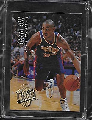 Amazoncom Grant Hill 1994 95 Fleer Ultra Basketball Rookie