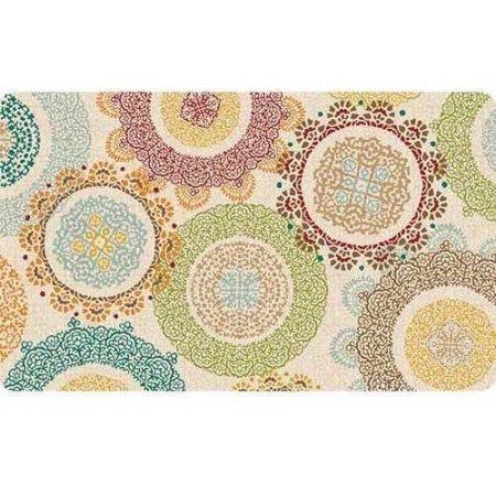 Lace Medallions Cushion Comfort Mat