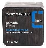 Every Man Jack Pomade High Shine Soft Hold 2.65 Ounce (78.4ml)