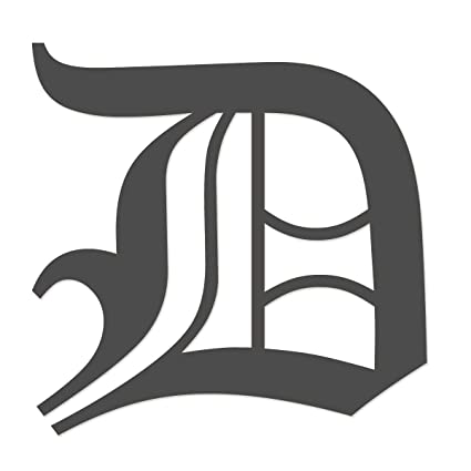 Amazon.com: Applicable Pun Old English Letter D   Vinyl Decal